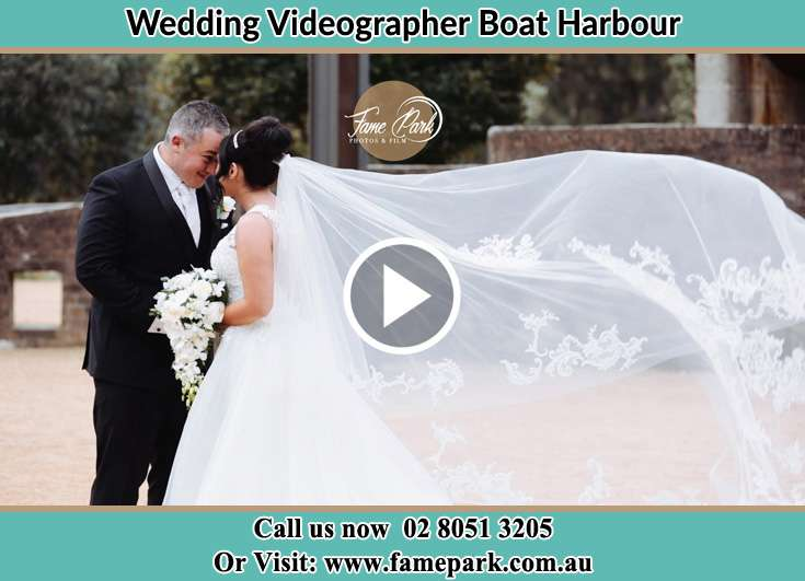 The newlyweds looking at each other Boat Harbour NSW 2316