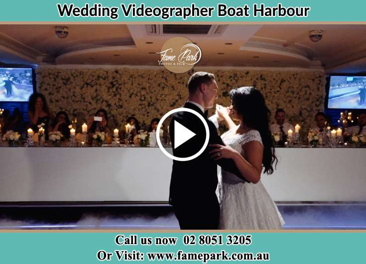 The newlyweds dancing Boat Harbour NSW 2316