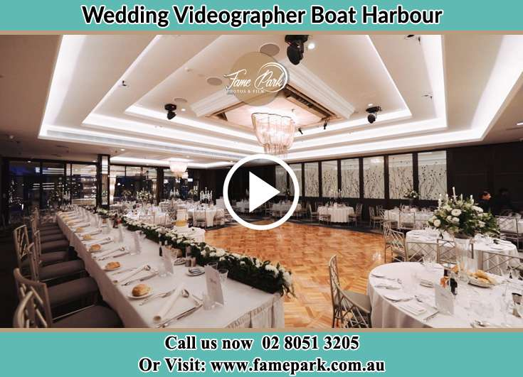 The reception venue Boat Harbour NSW 2316