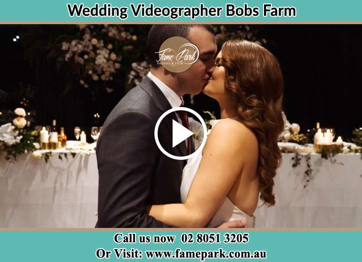 The new couple kissing Bobs Farm NSW 2316