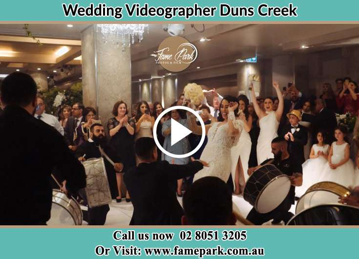 Bride and Groom at the dance floor Duns Creek NSW 2321