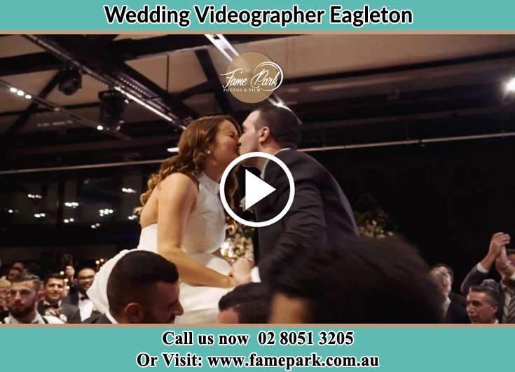 The new couple kissing Eagleton NSW 2324
