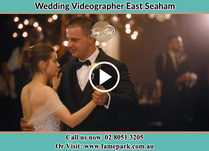 The newlyweds dancing East Seaham NSW 2324