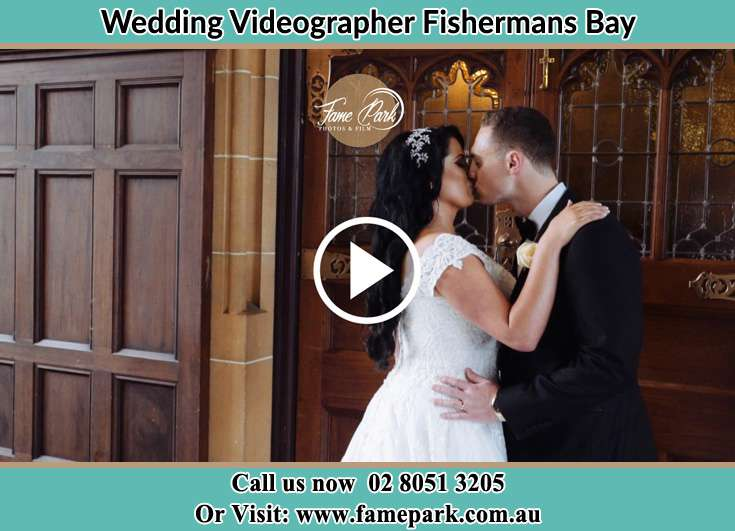 The new couple kissing Fishermans Bay NSW 2316
