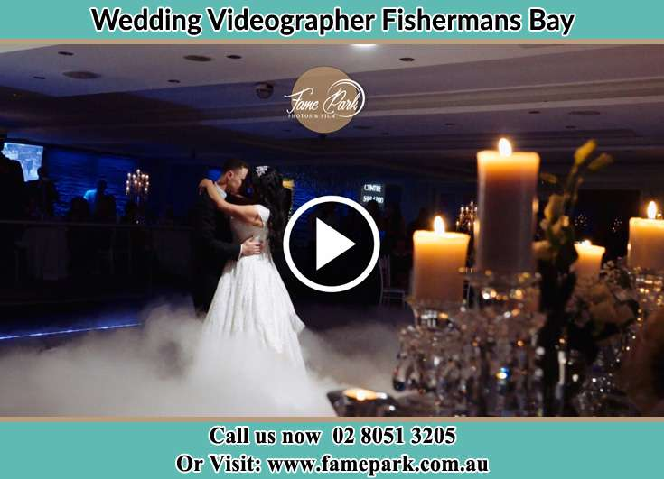 Bride and Groom looking at each other while dancing Fishermans Bay NSW 2316