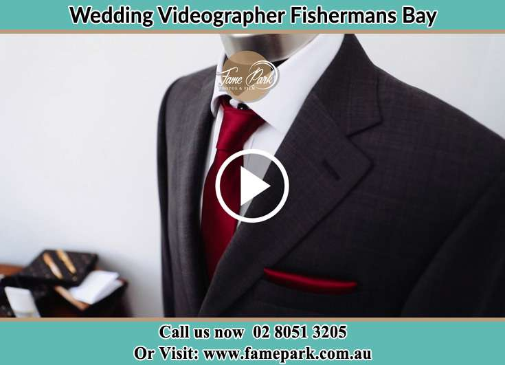 The Groom's wedding suit Fishermans Bay NSW 2316