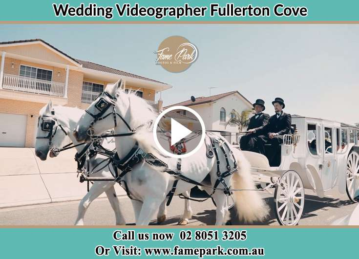The wedding carriage Fullerton Cove NSW 2318