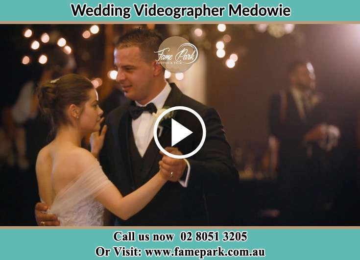 The newlyweds dancing Medowie NSW 2318