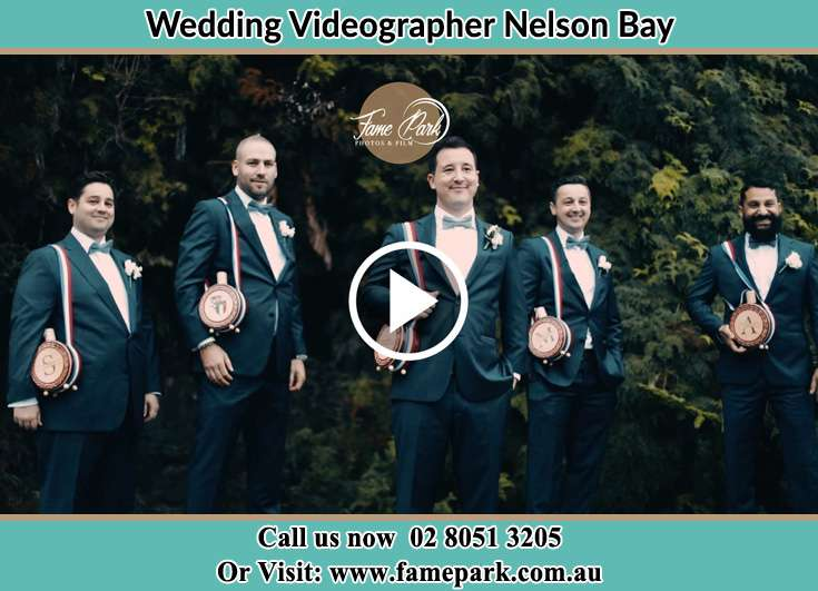 Groom and his secondary sponsors Nelson Bay NSW 2315