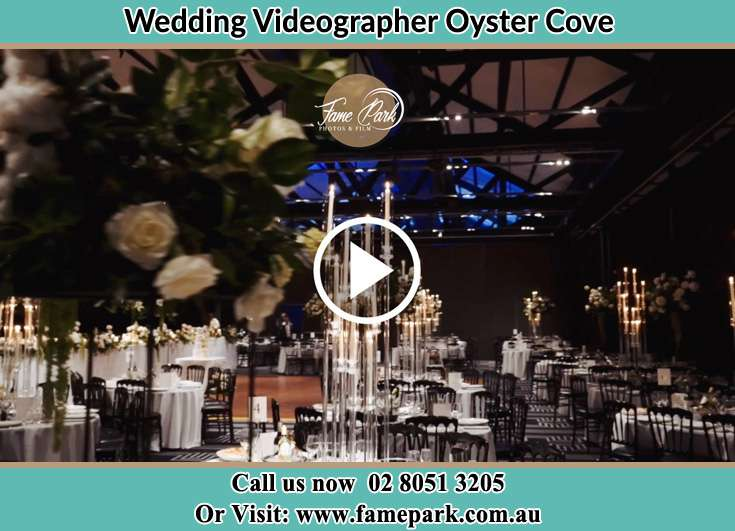 The reception venue Oyster Cove NSW 2318