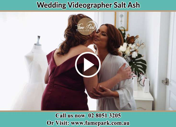 The Bride kiss by the sponsor Salt Ash NSW 2318