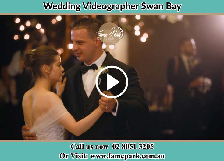 The newlyweds dancing Swan Bay NSW 2324